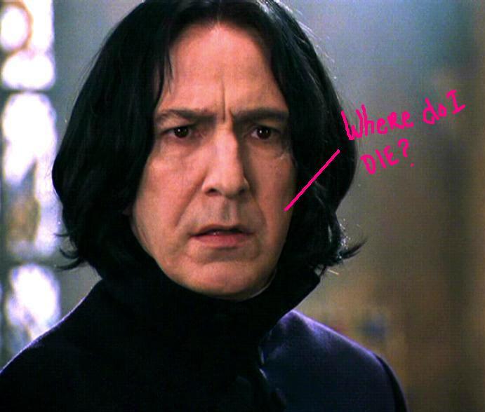 alan rickman snape. of Severus Snape#39;s death